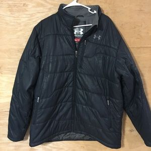 Under armour UA men's XL black puffer jacket